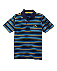 Mitre Stripe Polo Shirt Long