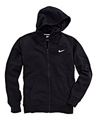 Nike Black Swoosh Fleece Full Zip