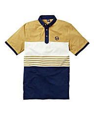 Sergio Tacchini Stripe Polo Long