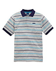 Mitre Striped Polo Shirt