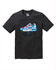 Nike Watercolour Sneaker T-Shirt