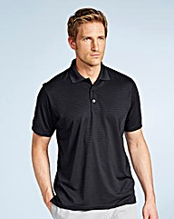 JCM Sports Textured Polo Shirt