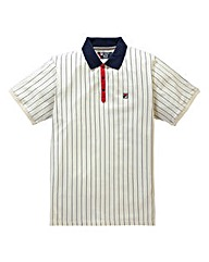 Fila BB1 Striped Polo Shirt