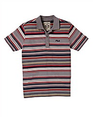 Fila Malco Striped Polo Shirt