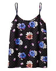Floral Print Strappy Camisole