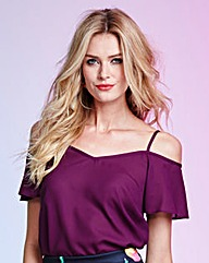 Cold Shoulder Blouse - Fashion World