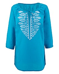 Embroidered Gypsy Top