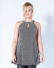 Cut Out Swing Tunic