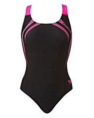 Speedo Sports Logo Medalist Swimsuit