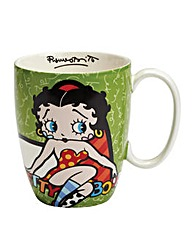 Betty Boop Green Mug