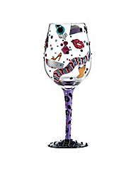 Lolita Shopaholic 3 Standard Wine Glass