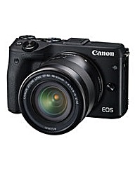 Canon EOS M3 CSC Camera +18-55mm Lens