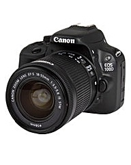 Canon EOS 100D SLR Camera 18-55mm IS