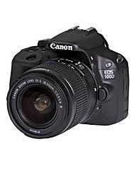 Canon EOS 100D SLR Camera 18-55mm III