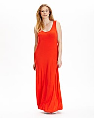 Tall Sleeveless Jersey Maxi Dress