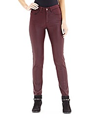 Lana Wet Look Skinny Jeans - Regular