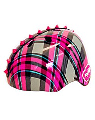Krash Plaid Pyramid Studs Helmet