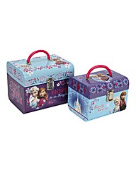 Disney Frozen Metal Handled Carry Boxes