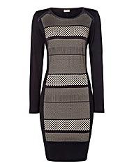 Gelco Panels Jersey Dress