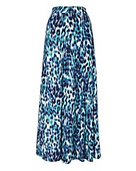 Betty Barclay Animal Print Maxi Skirt