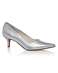Marta Jonsson Silver Court Shoes