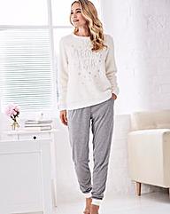Pretty Secrets Fluffy Pyjama Set