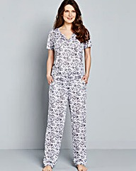 Pretty Secrets Floral Pyjama