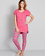 Pretty Secrets PK2 Legging Pyjama Set