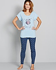 Pretty Secrets Pk 2 Legging Pyjama Set