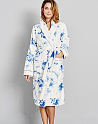 Pretty Secrets Luxury Fleece Floral Gown