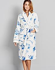 Pretty Secrets Luxury Fleece Floral Gown