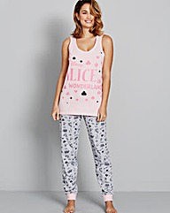 Alice in Wonderland Pyjama Set