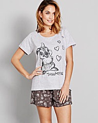 Bambi Shortie Pyjamas