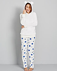 Pretty Secrets Cosy Fleece Pyjama Set
