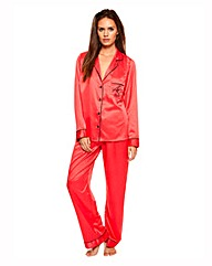 Ann Summers Red Satin PJ Set