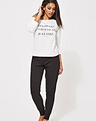 Ann Summers Just Fizz Sweater PJ Set