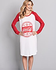 Cocal Cola Jersey Nightie