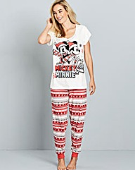 Mickey and Minnie Pyjama Set