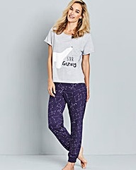 Pretty Secrets Star Gazing Pyjama Set