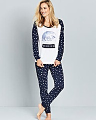 Pretty Secrets Snowglobe Pyjama Set