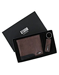 Storm London Wallet & Keyring Set