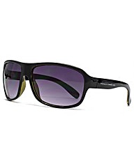 French Connection Wrap Sunglasses
