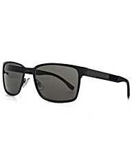 Boss Black Carbon Square Sunglasses