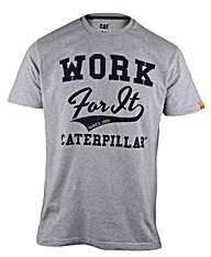 Caterpillar Work for It Tee