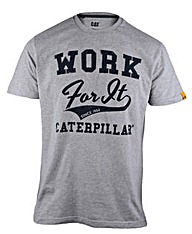 Caterpillar Work for It T-Shirt