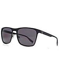 Hugo Boss Fine Metal Square Sunglasses