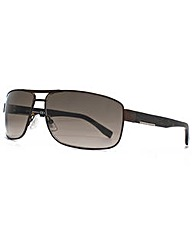 Hugo Boss Metal Rectangle Sunglasses
