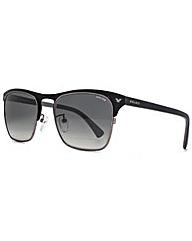 Police Keyhole Half Rim Sunglasses