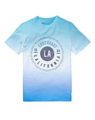Label J Dip Dye Print Tee