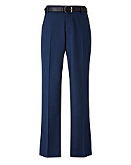 Black Label Slim Belted Trouser 31 inch